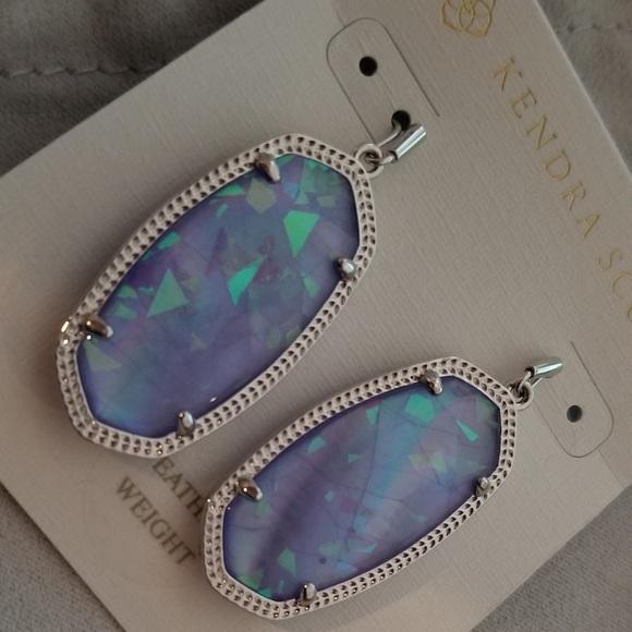 Kendra Scott Jewelry - Kendra Scott- Silver/Lilac Elles